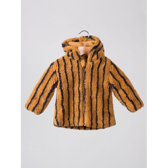Baby Fur Jacket Stripes - Bobo Choses