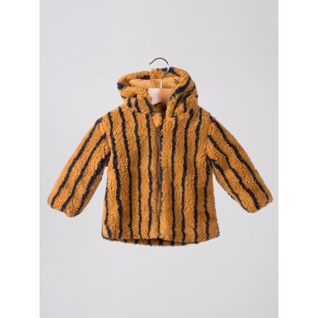 Baby Fur Jacket Stripes - Bobo Choses