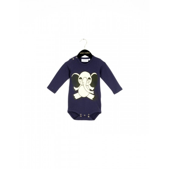 ELEPHANT BODY BLUE - Mini Rodini