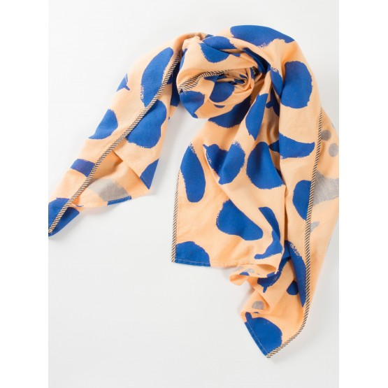 Foulard Big fruits Blue