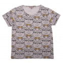 TEE SHIRT - SABLE ALL OVER CAT