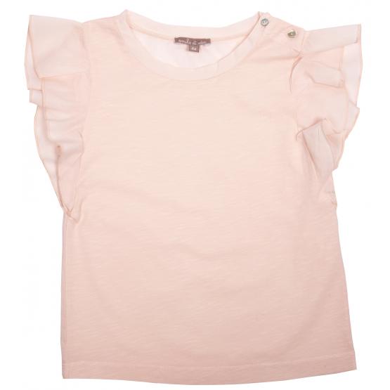Tee-shirt Volants Miel - Emile et Ida