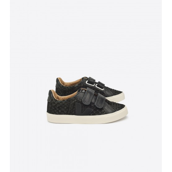 Sneakers Esplar Oxford Grey Jaune Fluo - Veja