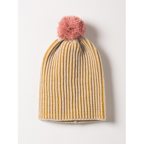 Beanie Bicolour Yellow - SUNFLOWER