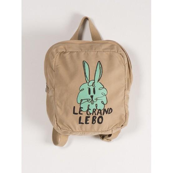 Small Schoolbag Bunny - Antelope
