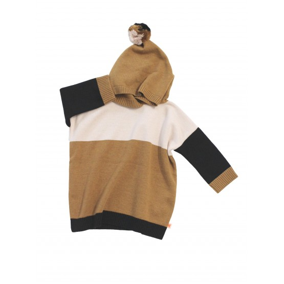 Poncho Color Block - Tinycottons