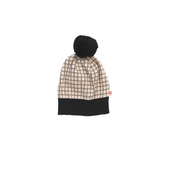 Grid Beanie - Tinycottons