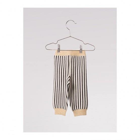 Baby Knitted Legging Black - Bobo Choses