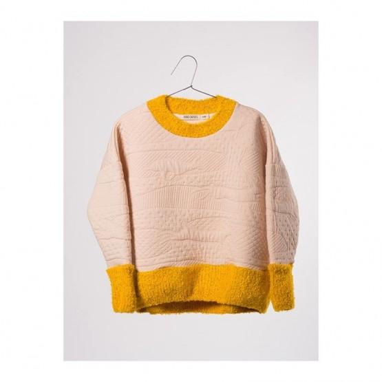 Sweatshirt Jumping Rabbit Pink - Bobo Choses