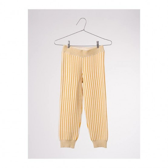 Legging Rayé Jaune - Bobo Choses