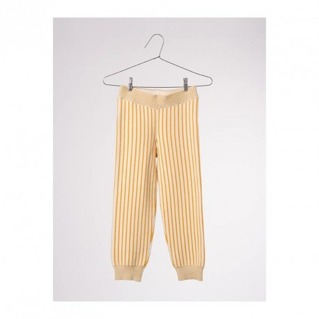 Stripes Yellow Legging - Bobo Choses