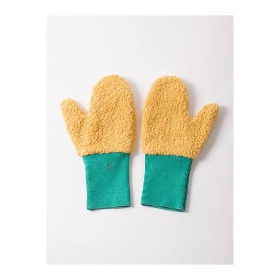 Mitten Mustard Gloves - Bobo Choses