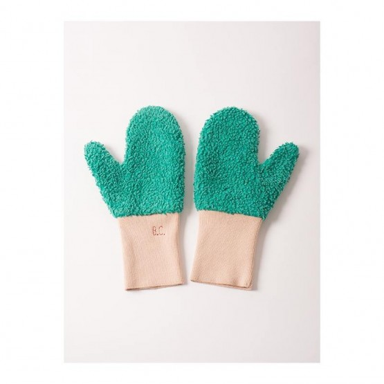 Mitten Shell Pink Gloves - Bobo Choses