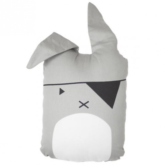 Animal Cushion Pirate Bunny - Fabelab