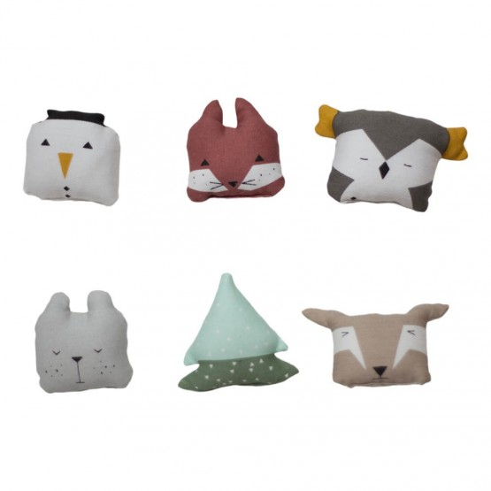 Soft Animal Ornements - Fabelab