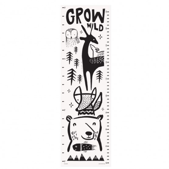 Growth Chart Woodland - Wee gallery