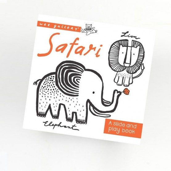 Livre Animaux Safari - Wee Gallery