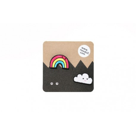 Ricecloud Pin Badge Set - Noodoll
