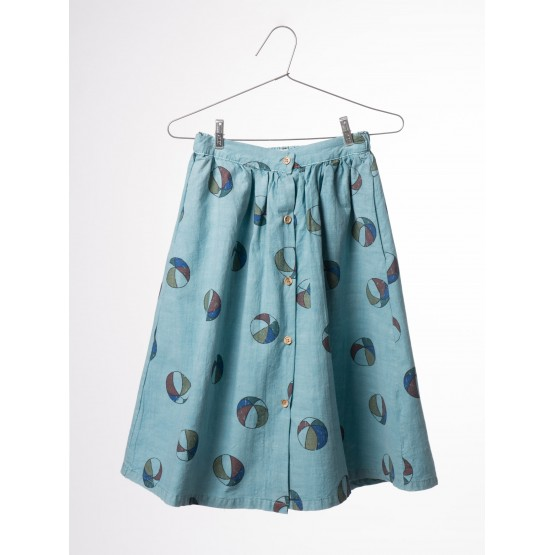 Basket Balls Midi Skirt - Bobo Choses