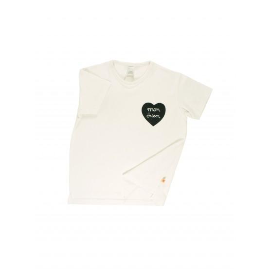 Mon Chien Teeshirt - Tinycottons