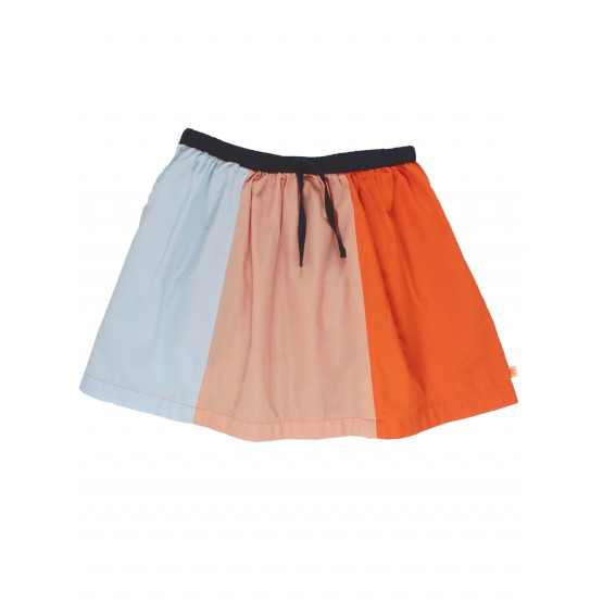 Color block Skirt - Tinycottons