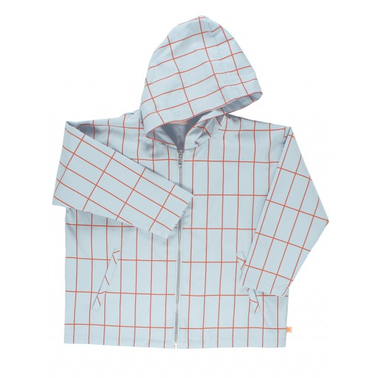 Big Grid Jacket - Tinycottons