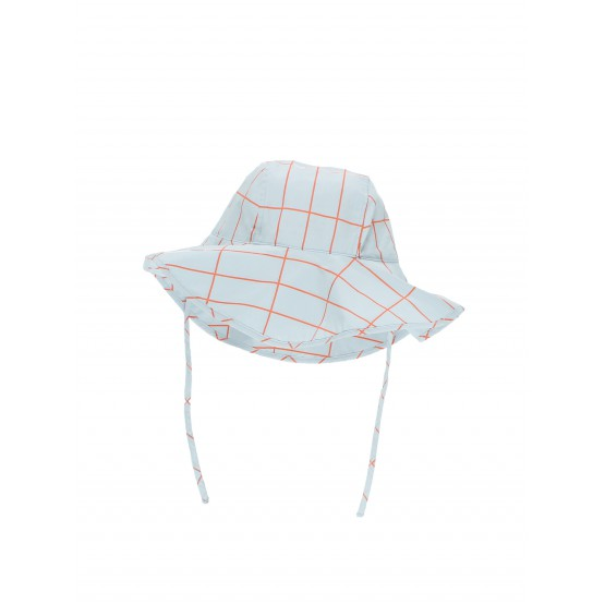 Grid Sun Hat - Tinycottons