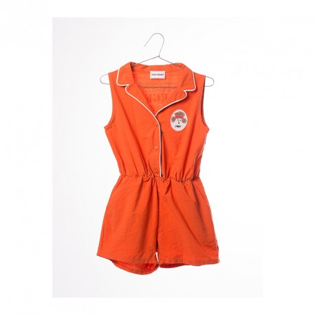 Tailor Neck Rompers Pipping - Bobo Choses