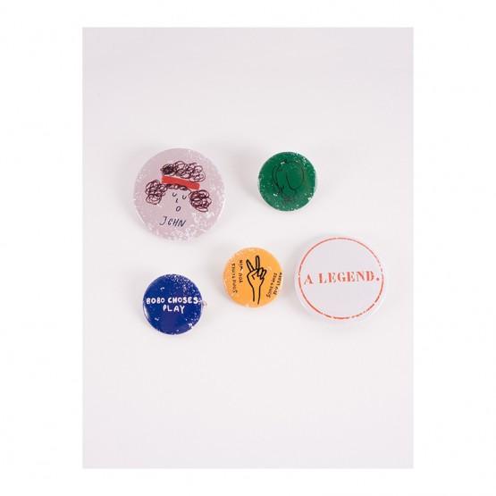 Pack of 5 Badges - Bobo Choses