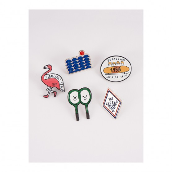 Pack of 5 Pins - Bobo Choses
