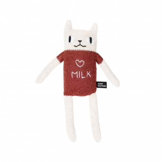 Peluche Chat - Main Sauvage