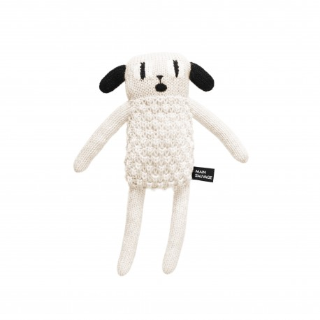 Peluche Puppy - Main Sauvage