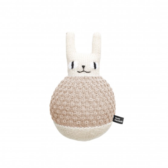 Plush Roly Poly Rabbit - Main Sauvage