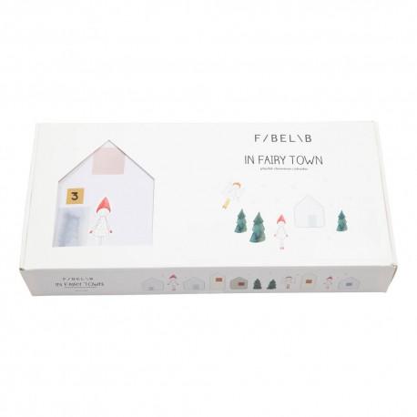 Calendrier de l'Avent Fairy Town - Fabelab