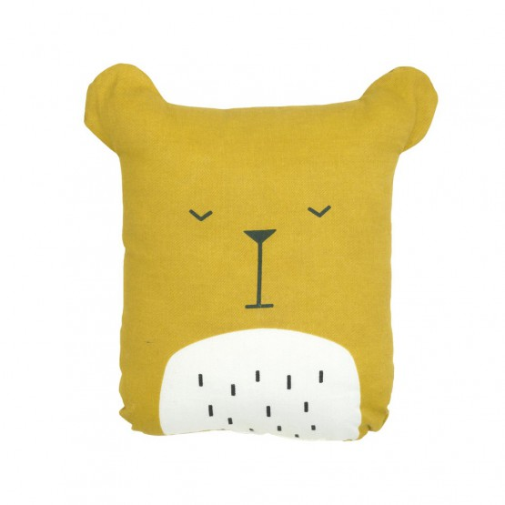 Doudou Coussin Ours - Fabelab