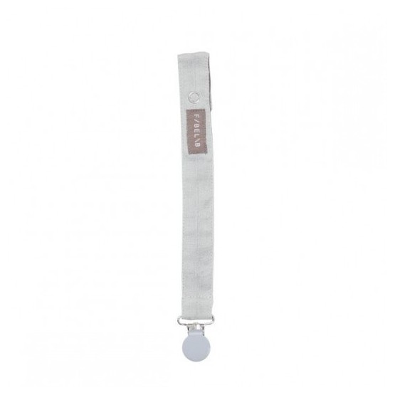 Pacifier Holder Icy Grey - Fabelab