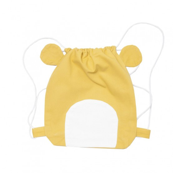 String Bag Lazy Bear - Fabelab