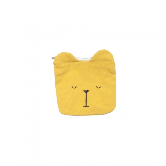 Coin Pouch Lazy Bear - Fabelab