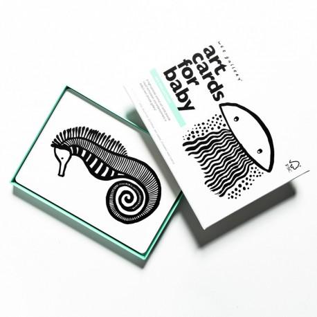 Cartes Animaux La Mer - Wee Gallery