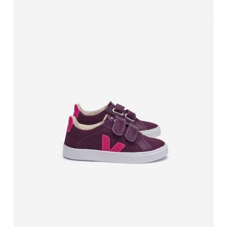 Sneakers Esplar Groseille Fluo Pink - Veja