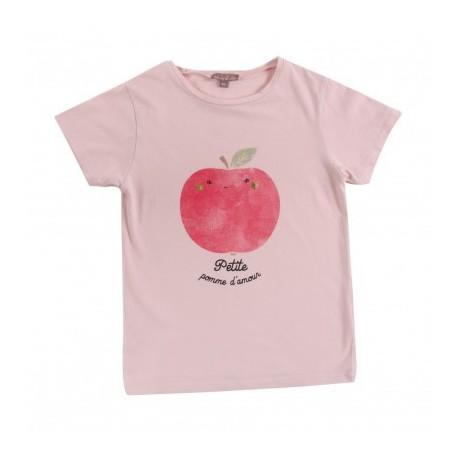 Teeshirt Pomme d'Amour - Emile et Ida