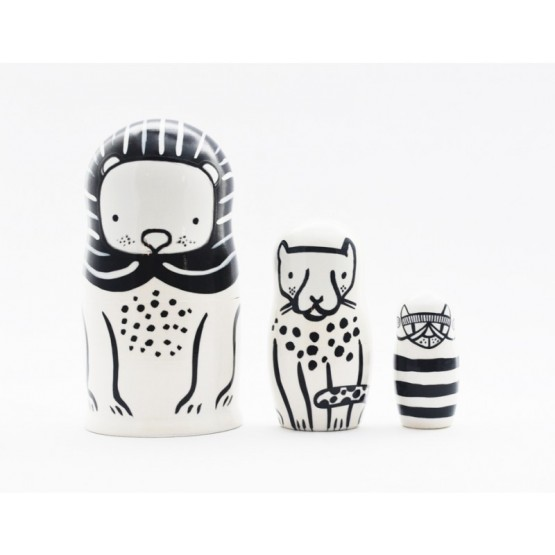 Nesting Dolls Cats - Wee Gallery