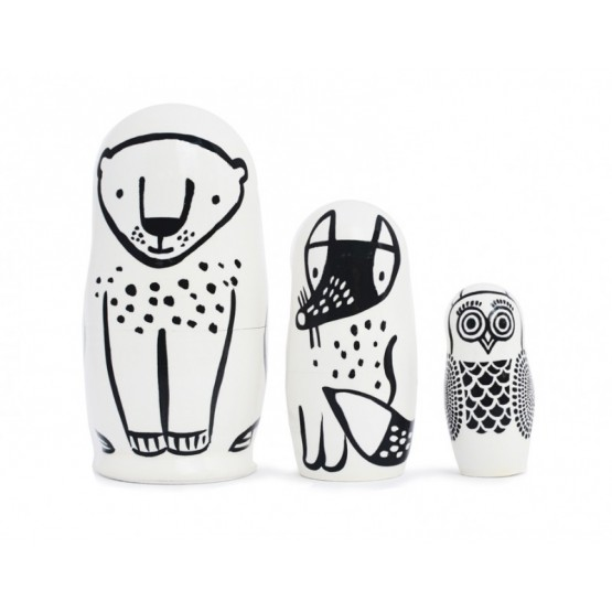 Nesting Dolls Forest Friends - Wee Gallery