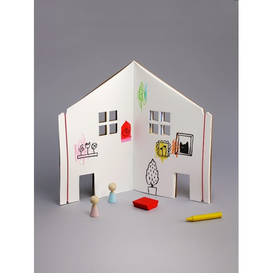 Doll House Book - Rock and Pebble