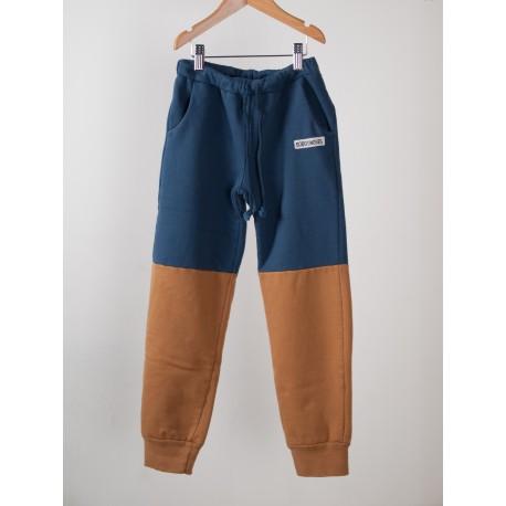Trousers Bicolor Blue